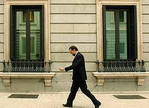 Rajoy caminando