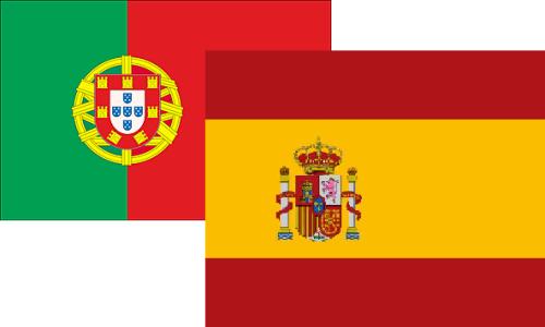 Banderas ESP POR
