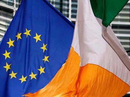 Banderas UE Irlanda