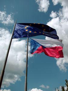 Banderas UE Checa