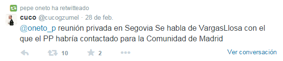RTweetOnetoVargasLlosa