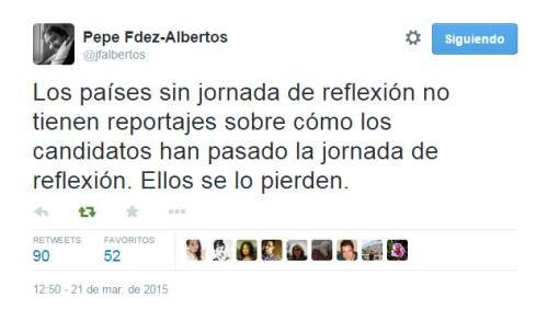TweetJornadaReflexion