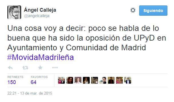 Tweet Angel Calleja UPyD